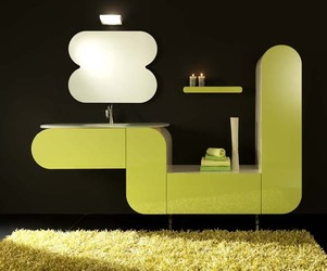 Italian Bathroom Furniture From LASA IDEA