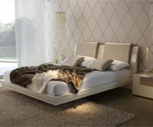 Italian, Stylish and Modern Diamond Beds by Rossett