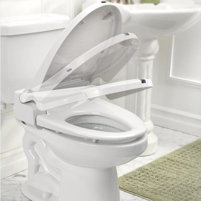 Itouchless sensor controlled automatic toilet seat for Touchless toilet seat