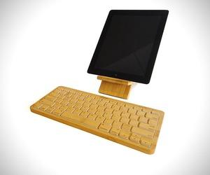 iZen Wireless Bamboo Keyboard