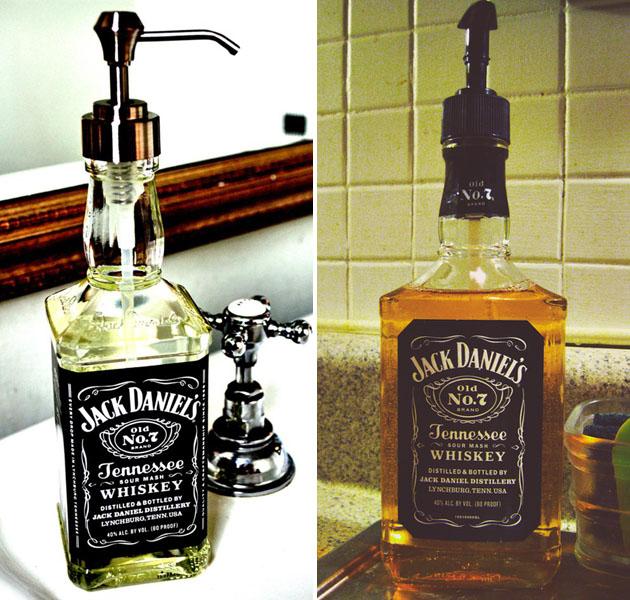 Jack Daniel Botttle Soap Dispenser