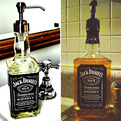 Jack Daniel Botttle Soap Dispenser