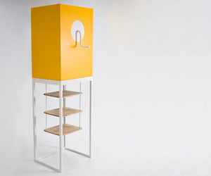 """""""Jack in the Box"""" Shelves by Niclas Andersson"""