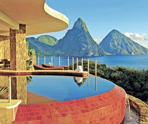 Jade Mountain Luxury Resort in St. Lucia