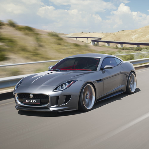 Jaguar Concept: Jaguar C-X16 Concept