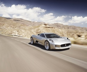 Jaguar C-X75 Turbine Powered Supercar