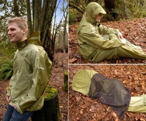 JakPak Jacket Turns into Sleeping Bag