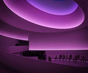 James Turrell Reimagines the Guggenheim Rotunda