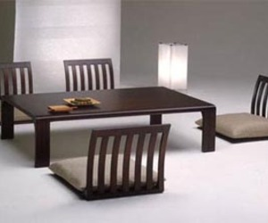 Japanese Minimalist Style Dining Chair