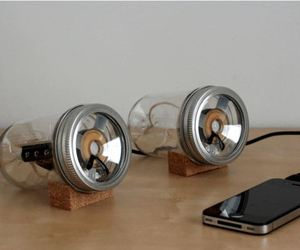 Jar Speakers by Sarah Pease