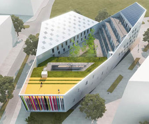 JDS wins 1st prize for youth centre in Lille