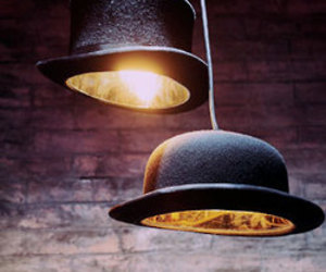 Jeeves and Wooster Lamps by Jake Phipps
