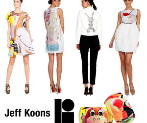 Jeff Koons Collaborates With Lisa Perry