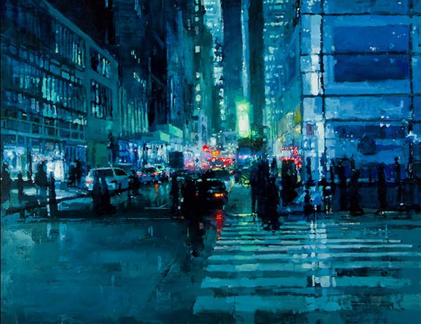 Jeremy Mann S Eery Urban Oil Paintings