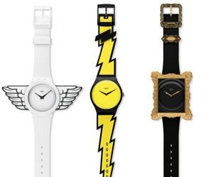 Jeremy Scott Does 3 New Watches For Swatch