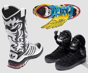 Jeremy Scott for Adidas (present and preview)