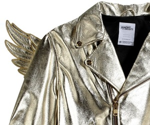 Jeremy Scott's JS Gold Wings Jacket By Adidas