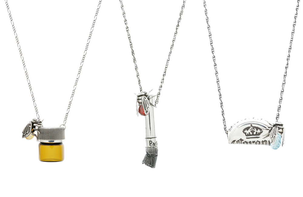 jewelry pieces inspired with unhealthy habits