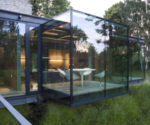 Jodlowa House, a Stunning Glass House in Krakow by PCKO