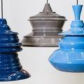 Johanna Tammsalu's Solid Spin Lamps