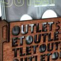 John Kenneth Adams' aesthetic OUTLET magazine stand