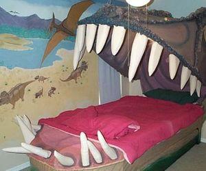 Jurassic Park themed bedroom for your loving kid