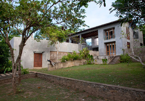 Kadju house on coconut beach sri lanka for Home architecture sri lanka