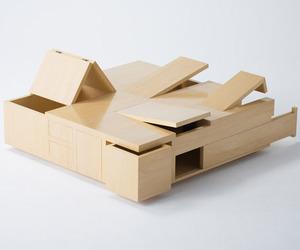 Kai Table by Naoki Hirakoso and Takmitsu Kitahara