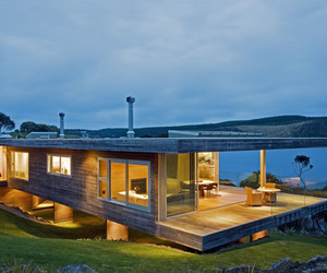Kaipara Bridges House by by Architect Simon Twose
