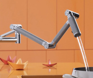 Karbon Articulating Kitchen Faucets by Kohler