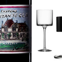 Karl Lagerfeld's Wine Label & Crystal Stemware