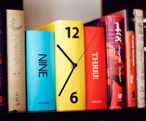 Karlsson Table Clock Book