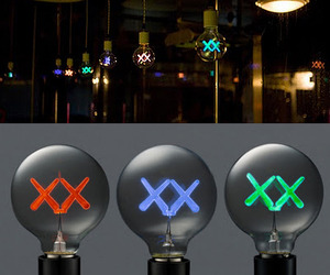 KAWS light bulbs for the Standard