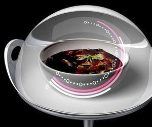 Kaya Future Microwave Oven with visual display