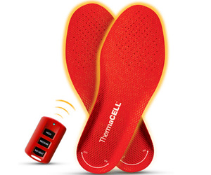 Keep Your Feet Warm With ThermaCELL Heated Insoles