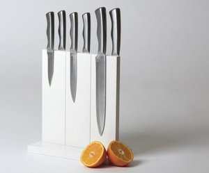 Keep your knives organized with Magnetic Knife Holder