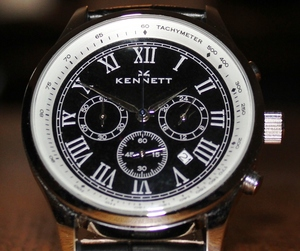 Kennett Savro Chronograph Watch - Hands on Review