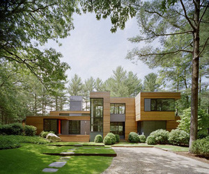 Kettle Hole House by Robert Young Architects