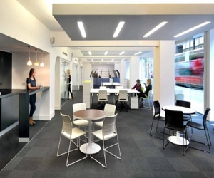'KI' completes refurbishment of its London office