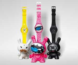 Kidrobot for Swatch