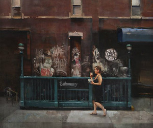Kim Cogan Captures The Quiet Side Of City Life.
