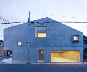 Kitaoji Residence by Torafu Architects