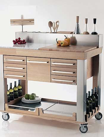 Kitchen Cart from Legnoart
