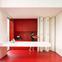 Kitchen With Folding Facade by dmvA Architecten
