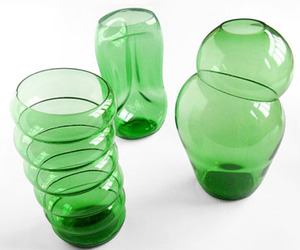 Klaas kuiken:  Green Glass Bottles