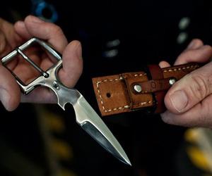 Knife Belt Buckle