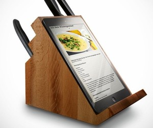 Knife Tablet Block