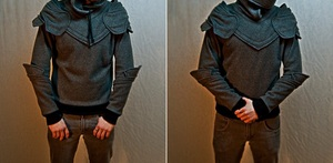 Knight Armored Hoodie from SOF works.