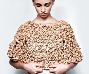 Knitted cork accessories by Casa GRIDGI