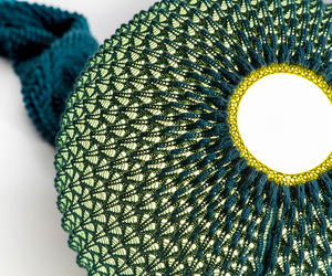 Knitted lamps by Ariel Zuckerman